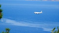 Κερκυρα DSC06394 (omirou56) Tags: 169ratio sonydschx60v airplane sea corfu ionio greece hellas ελλαδα θαλασσα κερκυρα αεροπλανο