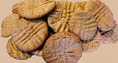 Treasure-mm (Guyser1) Tags: food cookies peanutbuttercookies westyellowstone canonpowershots95 pointandshoot