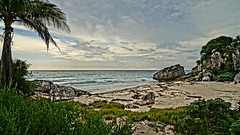 2017-12-07_09-23-36_ILCE-6500_DSC02296 (Miguel Discart (Photos Vrac)) Tags: 2017 24mm archaeological archaeologicalsite archeologiquemaya beach e1670mmf4zaoss focallength24mm focallengthin35mmformat24mm hdr hdrpainting hdrpaintinghigh highdynamicrange holiday ilce6500 iso100 landscape maya meteo mexico mexique pictureeffecthdrpaintinghigh plage sony sonyilce6500 sonyilce6500e1670mmf4zaoss travel tulum vacances voyage weather yucatecmayaarchaeologicalsite yucateque