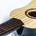 Guitar strings close-up