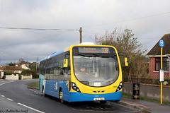 GA12112 - Rt33B - BurrowRd - 021218 (dublinbusstuff) Tags: dublin bus goahead route33b portrane burrowroad 12112 streetlite wright swords donabate