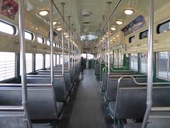 San Francisco, CA Muni F Line PCC streetcar (army.arch) Tags: sanfrancisco calilfornia ca muni streetcar fline pcc interior