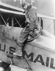 air mail collection image (San Diego Air & Space Museum Archives) Tags: hangar usairmail airmail aviation aircraft airplane biplane dehavilland dehavillanddh4 dh4 libertyengine libertyl12 liberty12