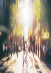 Flinders Lane Sunset 2 2018-12-07 (5D_32A2074) (ajhaysom) Tags: flinderslane digitalart melbourne australia sunset