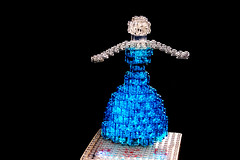 Magnetic levitation dancing LEGO Ballerina (Chairudo) Tags: lego ballerina magnetic levitation dancing maglev