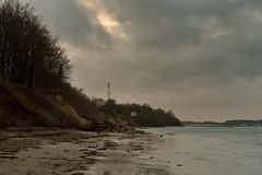 DSC_9154 (liebeslakritze) Tags: steepcoast steilküste coastline wind clouds wolken ostsee balticsea strand beach trees bäume