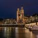 Grossmünster & Münsterbrücke, Zurich