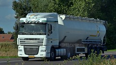 NL - De Hoop & Blom DAF XF 105 SC (BonsaiTruck) Tags: hoop blom daf lkw lastwagen lastzug silozug truck trucks lorry lorries camion caminhoes silo bulk citerne powdertank
