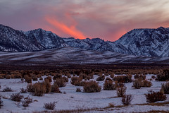 Mono Basin Winter Sunset (Jeff Sullivan (www.JeffSullivanPhotography.com)) Tags: mono basin scenic area lake county winter snow sunset california usa eastern sierra landscape nature travel photography canon eos 5d mark iv photo copyright 2018 jeff sullivan december