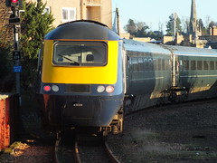 43026 departs Perth with a Scotrail from Glasgow Queen Street to Aberdeen (Western SMT) Tags: scotrail class 43 hst 7 cities 7cities