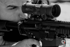 THP GIPN (stef974run) Tags: tir blaser hk417 thp tireur police gipn raid fipn cible précision lunette visée noir fusil arme élite cagoule bommert
