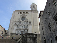Girona Cathedral (dckellyphoto) Tags: gironacathedral cathedralofsaintmaryofgirona girona spain 2015 catalonia gironaspain church stairs architecture