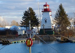 """Don't forget that maybe you are the lighthouse in someone's storm."" (Trinimusic2008 -blessings) Tags: trinimusic2008 judymeikle nature lighthouse promenade walk january 2019 toronto to ontario canada sky trees lake lakeontariowater waterfront recreational trail sonydschx80 sailboats mimicolinearparktrail"