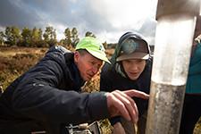 _58A6045Springer10112018 (NAUNews) Tags: hartprairie abespringer abrahamspringer geology josh joshbiggs biggs field hydrology fieldwork undergraduateresearch appliedresearchanddevelopment cefnscollegeoftheenvironment forestryandnaturalsciences outdoorclassroom