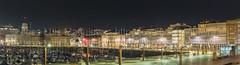 Galerías de La Marina (joseluismaquieira) Tags: acoruña coruña dársena dársenadelamarina lacoruña marina paseo hdr largaexposicion longexposure lowlight night noche pocaluz