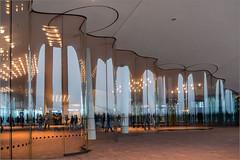 Elbphilharmonie Hamburg, Terrasse / Piri's-Galerie (ludwigrudolf232) Tags: glaswand hamburg elbphilharmonie pirisgalerie