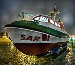 SAR lifeboat Wilhelm Hübotter (ChristianMandel) Tags: sar lifeboat wilhelmhübotter bremen dgzrs seenotrettungsboot schiff ship ilce7iii sonya7iii bokehpanorama brenizermethod sel85f18 mercatorprojection hugin