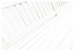 White bench after snow (leo.roos) Tags: bench bank snow sneeuw thehague denhaag loosduinen ockenburg ockenburgh landgoed estate countryestate park a7rii cz sony242 amount sonycarlzeiss24mmf2zassmdistagon sal24f20z darosa leoroos distagon2420za distagont224