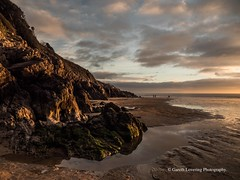 Sunset over Caswell Bay 2019 01 25 #33 (Gareth Lovering Photography 5,000,061) Tags: sunset sun sunny sunshine caswell gowercoast gower swansea wales seaside landscape beach walescostalpath olympus penf garethloveringphotography
