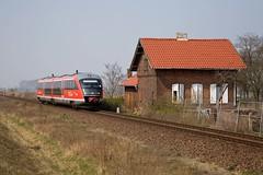 DB 642 176 - RB 36791 Haldensleben - Magdeburg Hbf  - Vahldorf (Rene_Potsdam) Tags: vahldorf br642 railroad treinen trains trenes züge europe europa deutschland sachsenanhalt deutschebahn