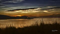 atardecer (azucena G. De Salazar) Tags: sunset atardecer getxo bizkaia euskadi euskalherria basquecountry paisvasco clouds nubes water sea ocean mar agua