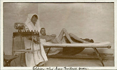 WW1 Soldier with Enteric (Typhoid) Fever (Aussie~mobs) Tags: ww1 sick nurse patient hospital war typhoid entericfever