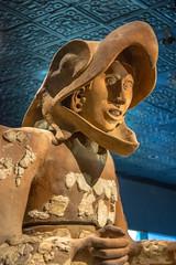 Guerrero Aguila (DSLEWIS) Tags: aguila guerrero guerreroaguila ceramic statue eaglewarrior eagle warrior aztec templemayor mexicocity ciudaddemexico ancient archaeology museum museo temple mexico
