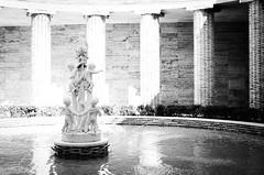 36335 - Fountain (Diego Rosato) Tags: fontana fountain statua statue colonne columns termini roma rome italia italy acqua water bianconero blackwhite nikon d700 50mm sigma rawtherapee