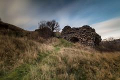 Burntisland Ruin (Fifescoob) Tags: burntisland leefilters canon 5ds fife scotland cloud landscape storm winter cold weather longexposure castle ruin history