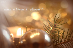 first sunday of advent (photos4dreams) Tags: 1advent advent first photos4dreams p4d photos4dreamz candle kerze eine one light licht