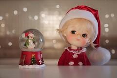 I love Christmas! ❤️ (Petitedoll) Tags: christmas doll bjd mong secretdoll