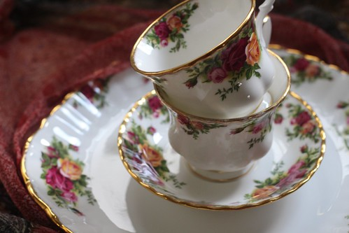 Tea Cups Stacked
