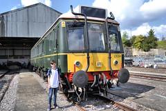 Old Oak Common RIP (R~P~M) Tags: train railway depot shed oldoakcommon gwr greatwestern london dmu bubblecar 121 multipleunit england uk unitedkingdom greatbritain
