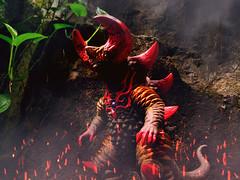 Skull Gomora (kharafirafi) Tags: actionfigure actionfigurephotography actionfigures toys toyphotography toygraphy toycrewbuddies toyelites toygraphyid teamup marvel marvelcomic marvellegend marvelselect villains monster godzilla