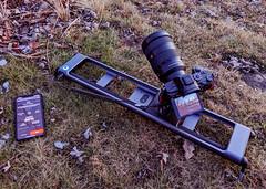 Rhino Camera Gear ROV Pro Traveler Slider (Tony Webster) Tags: minnesota rhino rhinocameragear rovpro rovprotraveler saintcroixstatepark sonya7riii stcroixstatepark iphone slider timelapse hinckley unitedstates us
