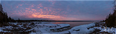Sunrise 2019-01-05 (D J England) Tags: cottage canoneos5dmkiii panorama pano brucepeninsula djenglandphotography morning douglasjengland sigma24105mmf4dgoshsma sunrise sky clouds ontario southernontario djengland dje tobermory haybay