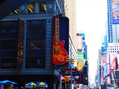 Times Square (New York, New York) (jjbers) Tags: times square new york city billboards led signs 42 street broadway avenue 7 seven forty second hard rock cafe