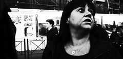 When the dark closes in. (Baz 120) Tags: candid candidstreet candidportrait city contrast street streetphotography streetphoto streetcandid streetportrait strangers rome roma ricohgrii europe women monochrome monotone mono noiretblanc bw blackandwhite urban life portrait people italy italia grittystreetphotography faces decisivemoment