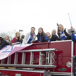 "<b>Homecoming Parade</b><br/> Luther's homecoming weekend involved an annual homecoming parade in downtown Decorah. Oct 26, 2018. Photo by: Annie Goodroad '19<a href=""//farm5.static.flickr.com/4883/31916250218_c806f375e2_o.jpg"" title=""High res"">&prop;</a>"