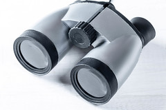 Binoculars a child's toy on a white background. Top view (wuestenigel) Tags: view instrument color lens nobody concept magnifying lugares glass binoculars background optical black watching looking discovery adventure strategy searching object pair equipment telescope search vision toy surveillance spy white isolated isoliert noperson keineperson ausrüstung plastic kunststoff technology technologie electronics elektronik linse medicine medizin desktop treatment behandlung power leistung glazed glasiert steel stehlen healthcare gesundheitswesen closeup nahansicht chrome chrom health gesundheit metallic metallisch glas
