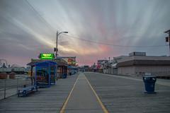 Wildwood Boardwalk (seanbeebe_photo) Tags: sunset wildwood boardwalk nj newjersey