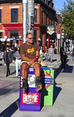 Resting (klauslang99) Tags: klauslang streetphotography toronto man resting street buildings people queen