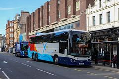 54232 YX64WBU Stagecoach Strathtay (busmanscotland) Tags: 54232 yx64wbu stagecoach strathtay yx64 wbu volvo b11rt plaxton elite interdeck east scotland fife