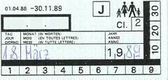 "Bahnfahrausweis Schweiz • <a style=""font-size:0.8em;"" href=""http://www.flickr.com/photos/79906204@N00/32259702878/"" target=""_blank"">View on Flickr</a>"