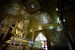 A Golden Buddha In Mandalay (El-Branden Brazil) Tags: myanmar burma burmese monks buddhism buddhist southeastasia asian asia mandalay temple buddha