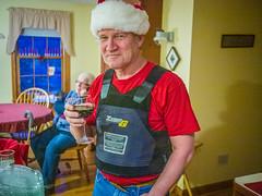 Santa John (John M Poltrack) Tags: clothing christmas holidays johnmpoltrack people ballisticvest bodyarmor bulletproofvest lightroom