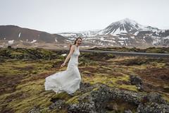 Birthday Bride! (JeffMoreau) Tags: bride bridal wedding cold snaefellsnes sony a7ii buffet winter niceland budir budakirkja