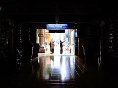 Into the Light (yusuf ks) Tags: tiban intothelight light dark darkness framing frame interior people tibanmosque masjidtiban masjid mosque morning noflash turen malang eastjava jawatimur indonesia architecture shadow square geometry tunnel
