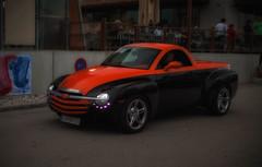 Chevrolet SSR (try...error) Tags: chevrolet truck black orange us usa uscar car available light canon 5d 5dii 50 150 vignette super sport roadster supersport ssr chevy pickup v8