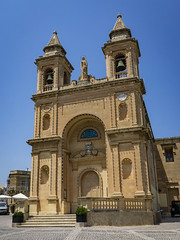 Parish Church Of Saint Peter In Marsaxlokk, Malta